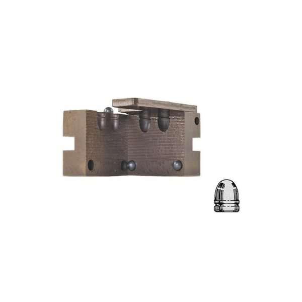 Fondipalle in acciaio da pistola a cavità doppia 365-100-RNBB